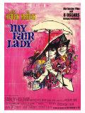 My Fair Lady, German Movie Poster, 1964 Prints