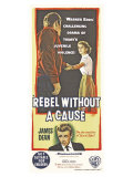 Rebel Without a Cause, Australian Movie Poster, 1955 Konst