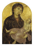 Madonna med barnet Giclée-tryk af  Cimabue