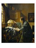 El astrónomo Lámina giclée por Johannes Vermeer