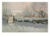 The Magpie, Etretat, Winter 1868-69 Giclée-Druck von Claude Monet