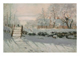 The Magpie, Etretat, Winter 1868-69 Giclee Print by Claude Monet
