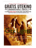 City Lights, Norwegian Movie Poster, 1931 Premium gicléedruk