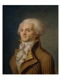 Portrait of Maximilien Robespierre Giclee Print