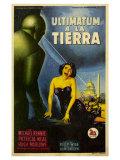 The Day The Earth Stood Still, Italian Movie Poster, 1951 Art