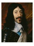Portrait of the King Louis XIII Giclée-vedos tekijänä Philippe De Champaigne