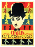 City Lights, Spanish Movie Poster, 1931 Premium gicléedruk