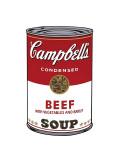Campbell's Soup I: Beef, c.1968 Reproduction procédé giclée par Andy Warhol