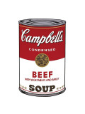 Campbell's Soup I: Beef, c.1968 Giclee Print by Andy Warhol