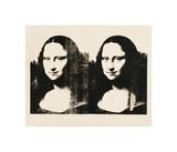 Double Mona Lisa, c.1963 Giclee Print by Andy Warhol