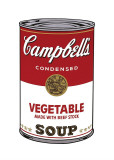 Campbell's Soup I: Vegetable, c.1968 Giclee Print by Andy Warhol
