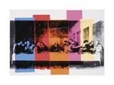 Detail des letzten Abendmahls, ca. 1986 Giclée-Druck von Andy Warhol