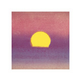 Sunset  c1972 (pink  purple  yellow)