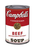 Campbell's Soup I: Beef, c.1968 Giclée-Druck von Andy Warhol
