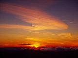 Sunset Near Taos  New Mexico  USA