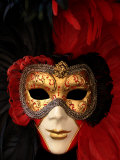 Ornate Mask, Venice, Italy Photographic Print by Abdul Kadir Audah