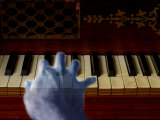 Ghost Hand Playing the Piano Photographic Print by Abdul Kadir Audah