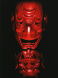 Red Devil Mask, Reflected Photographic Print by Abdul Kadir Audah