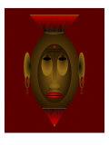 Mask of Dignity Reproduction procédé giclée par Rich LaPenna