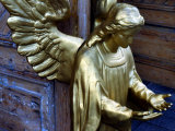 Golden Angel at Doors Photographic Print by Winfred Evers