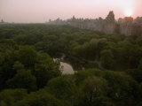 Sunrise over Central Park Fotoprint av Annie Griffiths Belt