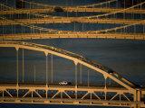 Pittsburgh's Bridges over the Allegheny River Fotografisk trykk av Lynn Johnson