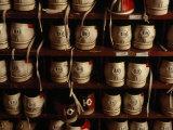 Bowling Shoes in a Rack Fotografisk trykk av Lynn Johnson