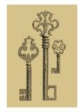 Antique Keys II Poster