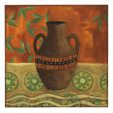 Earthern Vessel I Premium Giclee Print by Nancy Slocum
