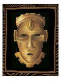 African Mask IV Prints by Chariklia Zarris