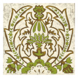 Small Lotus Tapestry II Posters by Chariklia Zarris