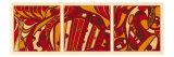 Orange Fission I Prints by Tina Kafantaris