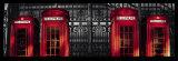 Red Telephone Boxes, London Kunst von Stephane Rey-Gorrez