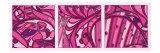 Pink Fission I Art by Tina Kafantaris