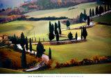 Strada Per Monticchiello Art by Jim Nilsen