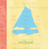 Vintage Toys Sailboat Poster par Paula Scaletta