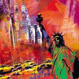 New York Julisteet tekijänä Robert Holzach