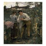 Rural Love Premium-giclée-vedos tekijänä Jules Bastien-Lepage