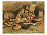 Keeoma Premium Giclée-tryk af Charles Marion Russell