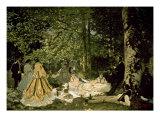 The Picnic Giclée-Premiumdruck von Claude Monet