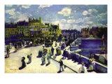 Pont-Neuf Art by Pierre-Auguste Renoir