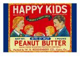 Happy Kids Bits O' Nut Peanut Butter Posters