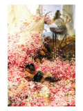 Roses of Heliogabalus Poster von Sir Lawrence Alma-Tadema