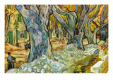 Roadman Poster av Vincent van Gogh