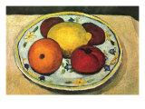 Naturaleza muerta: fruta Láminas por Paula Modersohn-Becker