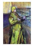 Maurice Joyant At The Bay Somme Prints by Henri de Toulouse-Lautrec