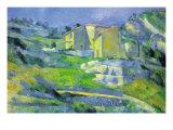 House In Provence Posters tekijänä Paul Cézanne