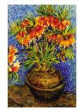 Fritillaries Plakater af Vincent van Gogh