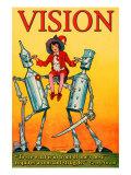 Visione Poster di Wilbur Pierce