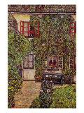 The House of Guard Posters por Gustav Klimt